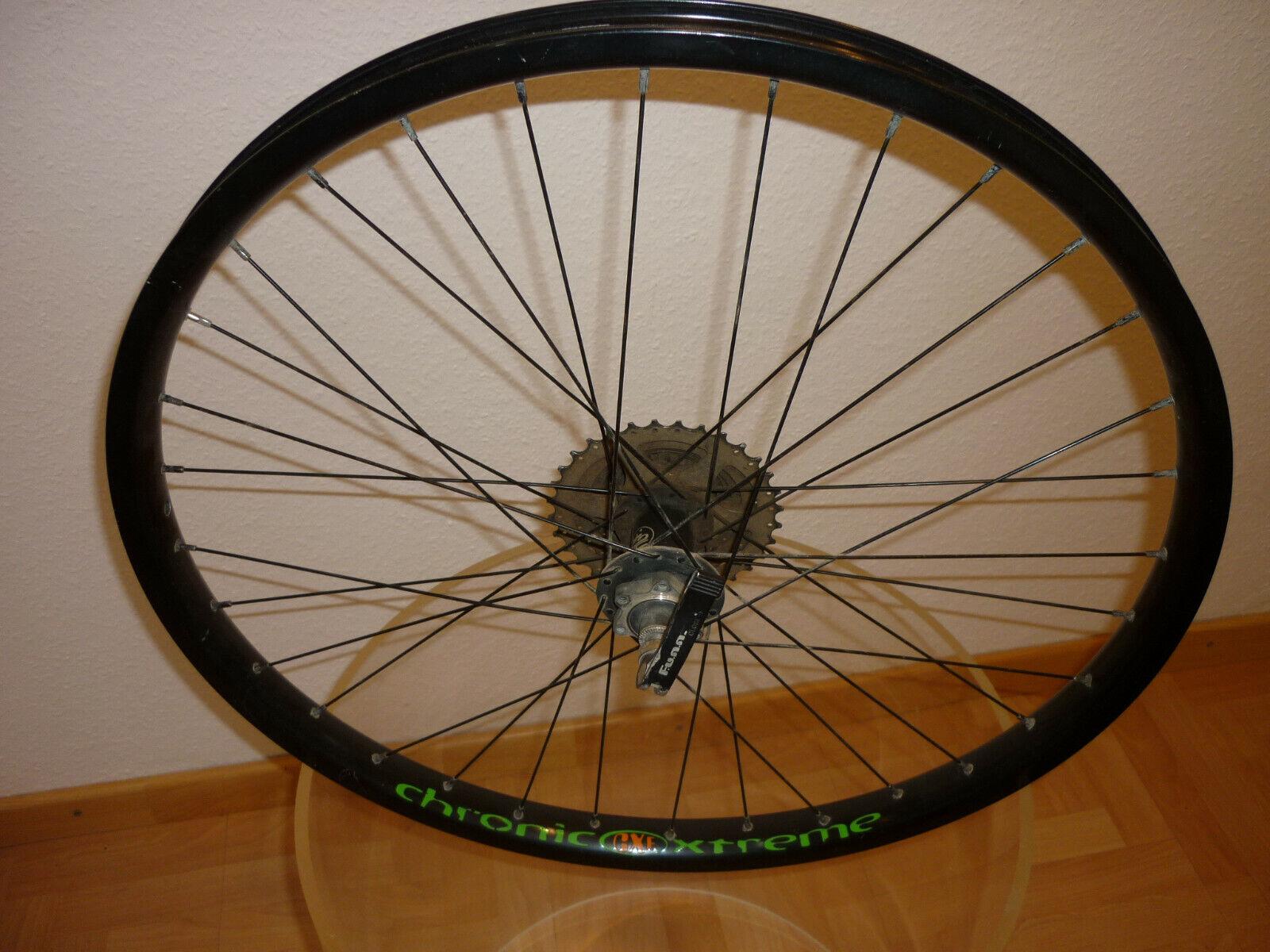 Estable ruedas 26' 9 especialistas cubo funn chronic Xtreme lastenrad transportrad