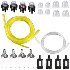 4 Sizes Tygon Fuel Filter Line Primer Bulb Kit For Poulan Weedeater Chainsaw~