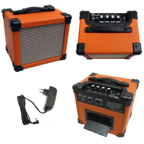 Amplificador-e-guitarra-aux input-audio - 15 vatios-Orange Edition-Mighty