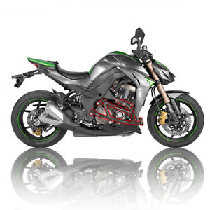 Details about Kawasaki Z1000 2010-2019 R-Gaza Protective Street Crash Cage  with Sliders