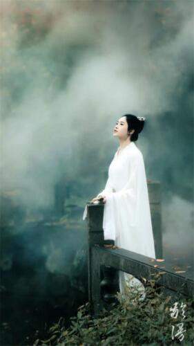 Women Vintage White Dress Chinese Ancient Costume Fairy Clothes Hanfu Tang Sets