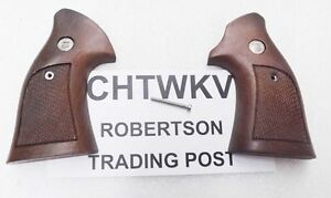Charter-Arms-Revolver-Grips-Walnut-Factory-Target-Conversion-CHTWKV-with-Screw
