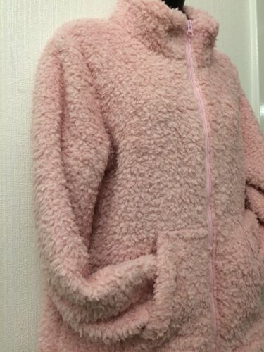 Soft And Cosy Fleece Lounge Wear//Bed Jacket Size 20//22 BNWOT