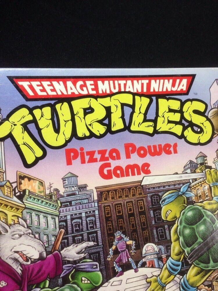 1987 Vintage TMNT Teenage Game-Pizza Mutant Ninja Turtles.Board Game-Pizza Teenage Power Game. 3ca1aa