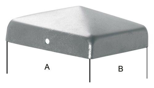 Hanseatischer Drahthandel Pfostenabdeckung A2 Edelstahl 120 zum nageln