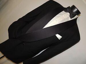 Terzo-Uomo-men-039-s-Double-Breasted-shawl-collar-formal-tuxedo-jacket-44-R