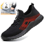 Mens Steel Toe Work Shoes Puncture Proof Safety Shoes Puncture Resistant Outdoor