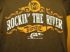 Rockin the River Concert Music T Shirt Dale Jr Blake Shelton Phil Vassar 2009