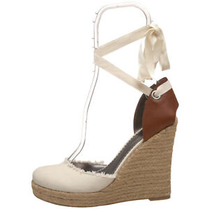 GUESS WOMAN'S  DELITA WEDGE SANDALS scarpe Sz. 8.5   WOMAN'S   efabea