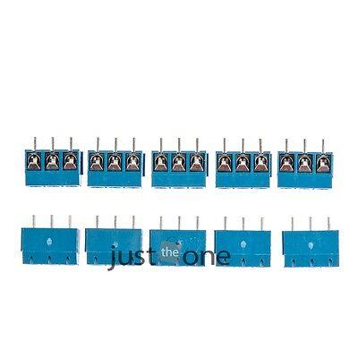 10 Stück KF301-3P 5.08MM 300V/16A Schraube Schraubklemme Anschluss Neu Hot