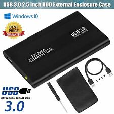USB 3.0 2.5 Inch SATA Hard Drive External Enclosure HDD Mobile Disk Case Caddy