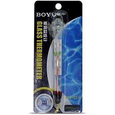 BOYU Submersible Glass Thermometer | BT-01 | Aquarium Accessory