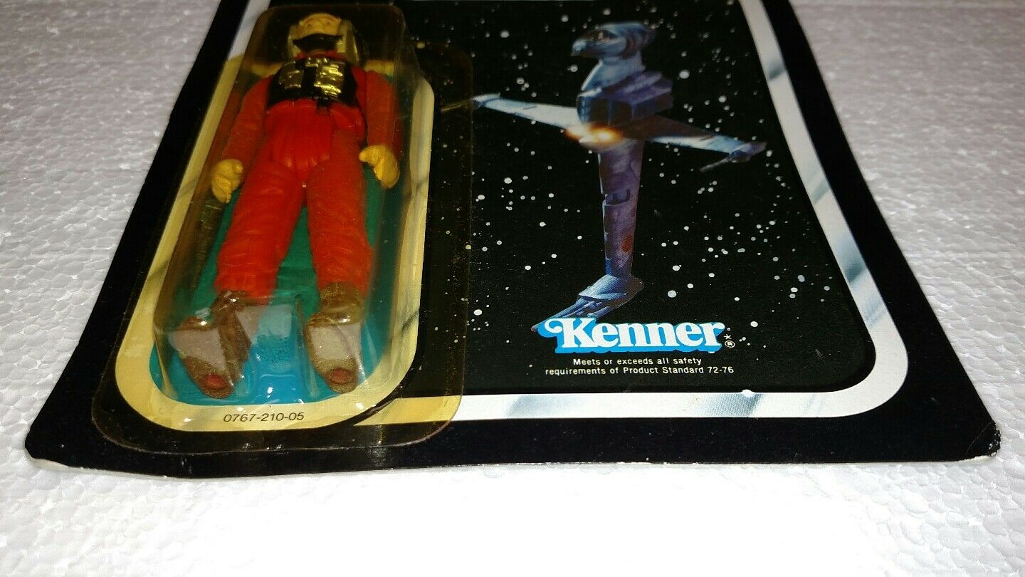 VINTAGE STAR WARS B-WING PILOT RETURN OF OF OF THE JEDI redJ KENNER 1983 BRAND NEW f26c59