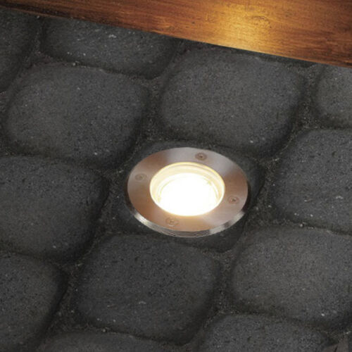 10er sol installation projecteur environ jardin éclairage sol projecteur ip67//gu10-230v