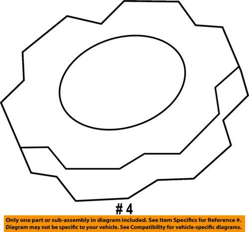 KIA OEM 11-16 Optima-Brake Master Cylinder//other Reservoir Tank Cap 585312B500