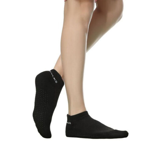 Newly Non Slip YOGA pilates fitness Massage grip SPORT gym Cozy exercise socks