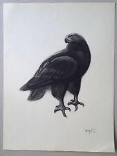 Georges Lucien GUYOT aigle royal eagle gravure art deco esprit paul jouve