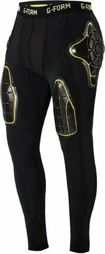 G-Form Pro-X Thermal Compression Pant-Blk//Yellow-Size Medium-MSRP $150