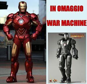 IRON-MAN-ARMATURA-MARK-7-WAR-MACHINE-COSTUME-DA-ASSEMBLARE-COSPLAY-ELMETTO-CASCO