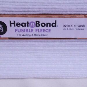 Image Is Loading Heat N Bond Fusible Fleece High Loft Iron