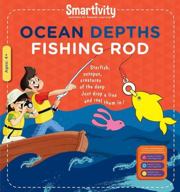 Smartivity Ocean Depths Fishing Roads Age 6+ Science Kit DIY