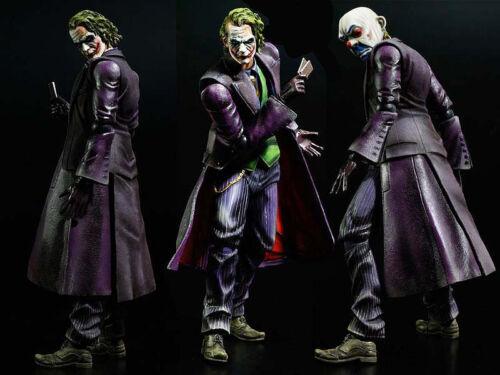 Square Enix Play Arts Kai Batman Dark Knight Trilogy Joker Figurine No Box