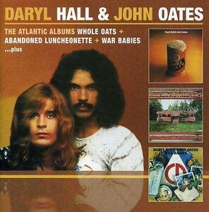 Daryl-Hall-amp-John-Oa-Whole-Oates-Abandoned-Luncheonette-War-Babies-New-CD
