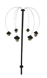 futterpalme mit 6 glocken h 140cm meisenkn delhalter futterstation v gel spender 5708127211457. Black Bedroom Furniture Sets. Home Design Ideas