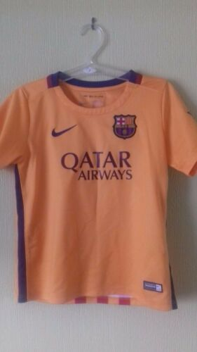 Barcelona 2015 away shirt size 45 yrs child
