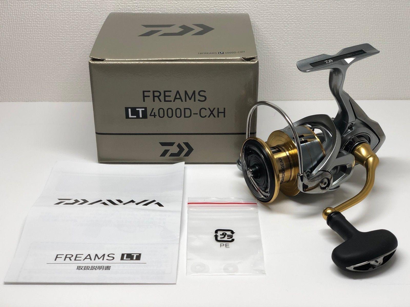 DAIWA 18 FREAMS LT 4000D-CXH  - Free Shipping from Japan