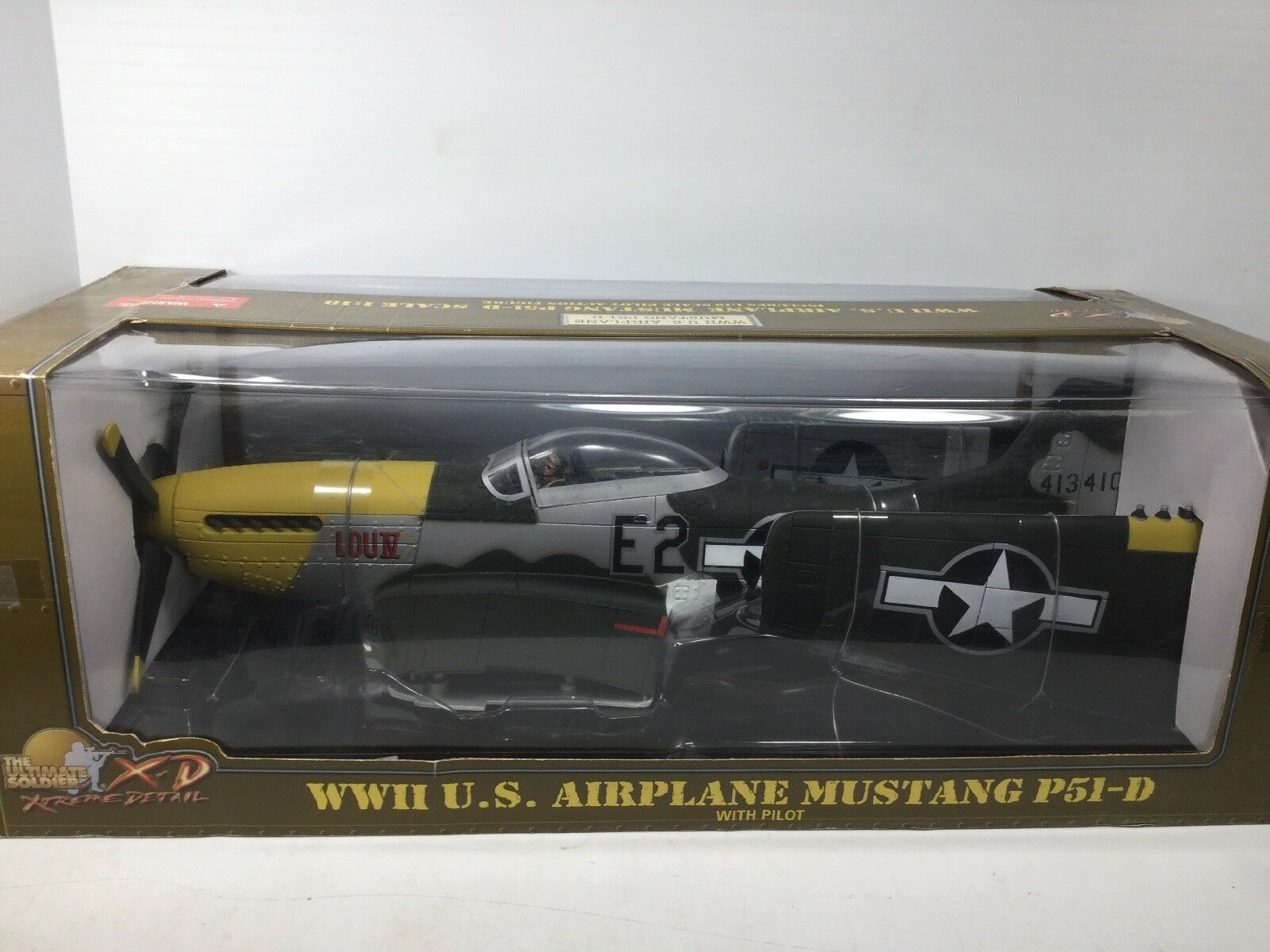 1 18 21ST CENTURY ULTIMATE SOLDIER XD USAF P-51 D BUBBLETOP FIGHTER PLANE WW2