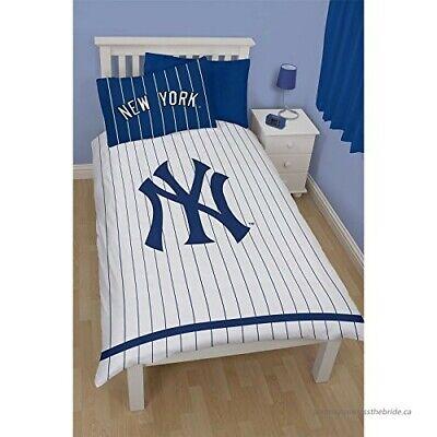 New York Yankee Reversible Single Duvet, New York Yankees Queen Bedding