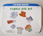 NEW Kid Made Modern Fabric Tie Dye Craft Kit 6 Powder Colors NIB