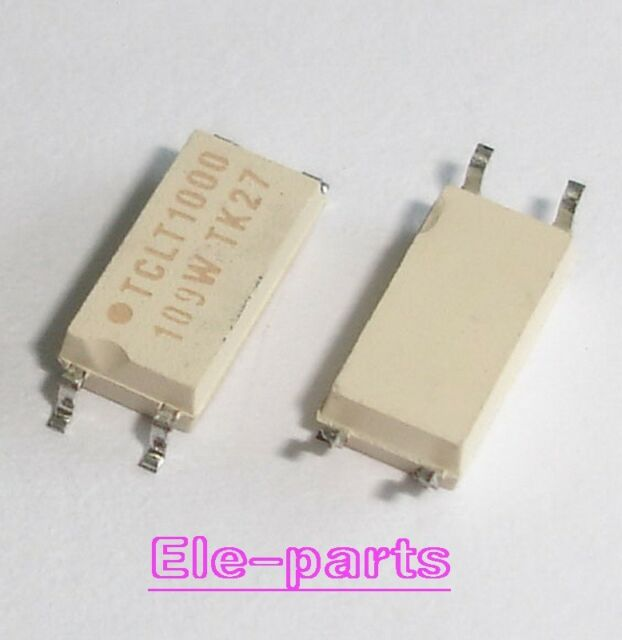 10 PCS TCLT1003 SOP-4 TCLT 1003 SMD-4 Optocoupler with Phototransistor Output