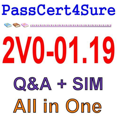 VMware vSphere 6.7 Foundations 2019 2V0-01.19 Exam Q/&A PDF+SIM
