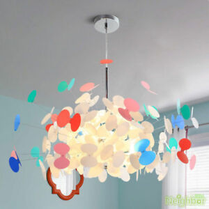 Details About New Colorful Erfly Chandeliers Creative Living Room Children S Bedroom