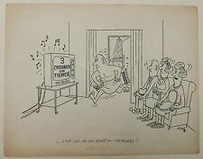Dessin Ancien Encre Illustration Tiercé Chevaux JICKA Jacques Kalaydjian 1950