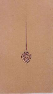 Despres Dessin Original Gouache épingle Coeur Initiales Joaillerie Art Deco1930 T6a3upmp-08012355-345105695