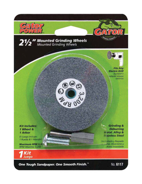 Ali Mounted Grinding Wheel For Metal Steel1 4 Arbor Fits Drill 2 1 2 Inch For Sale Online