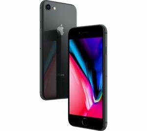 IPHONE-8-Remis-a-Neuf-256GB-Niveau-B-Noir-Mat-Original-Apple-Regenere