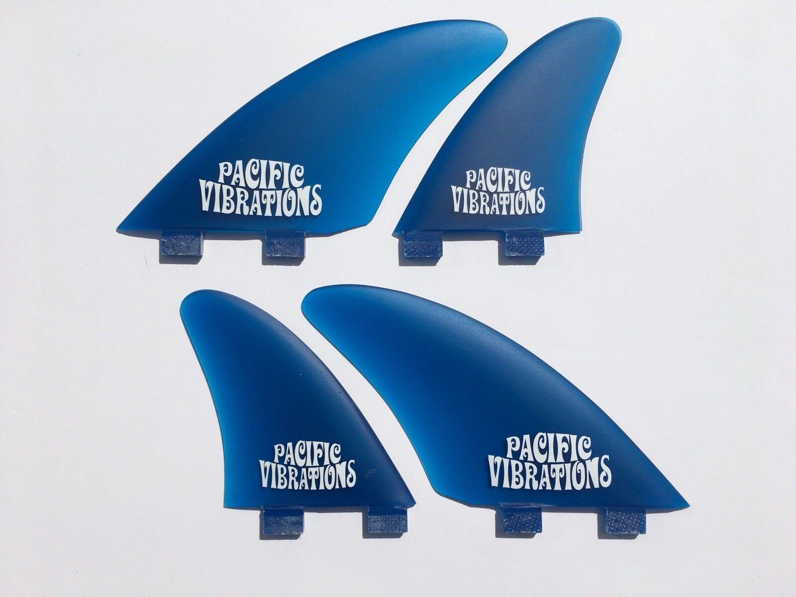 Pacific Vibrations Tavola da Surf Pinne Fcs