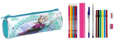 Disney Die Eiskönigin Frozen Schlamper gefüllt Etui Federmäppchen NEU
