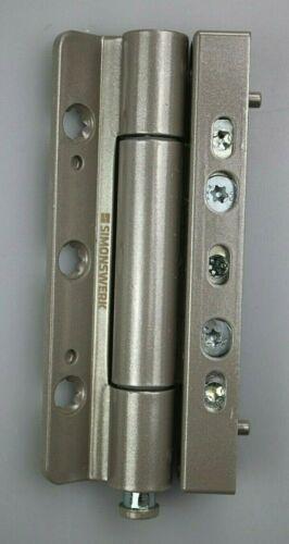SIMONSWERK Siku KF-Rollenband für Kunstofftüren grau Kömmerling RB 5015 3D-C4
