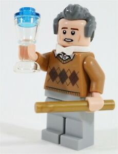 LEGO HARRY POTTER PROFESSOR SPROUT MINIFIGURE MADE OF LEGO PARTS