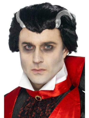 Adult Vlad Vampire Count Dracula Halloween Wig Adult Fancy Dress Accessory