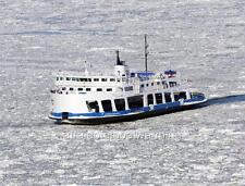 Photo. ca 2010.  NM Alphonse-Desjardins Ferry on Saint Lawrence River