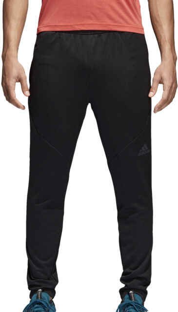 adidas Climalite Workout Mens Track Pants - Black