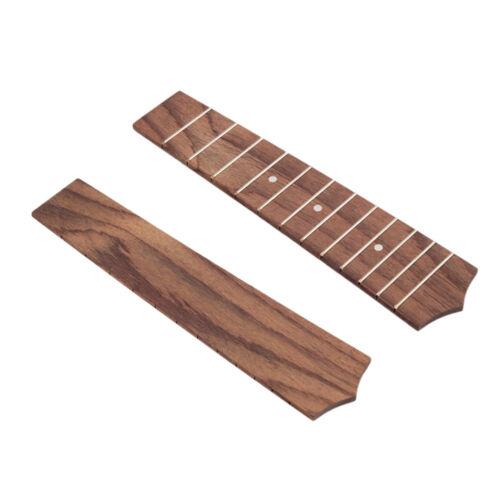 Palisander 21 Zoll Ukulele 12 Frets Griffbrett Griffbrett DIY Luthier
