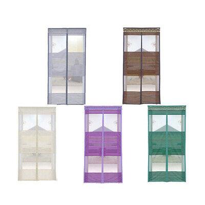 Einfach Fliegengitter Tür Insektenschutz Magnetvorhang Für Balkontür Fliegenvorhang De