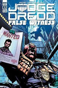 Judge-Dredd-False-Witness-3-NM-1st-Print-IDW-Comics